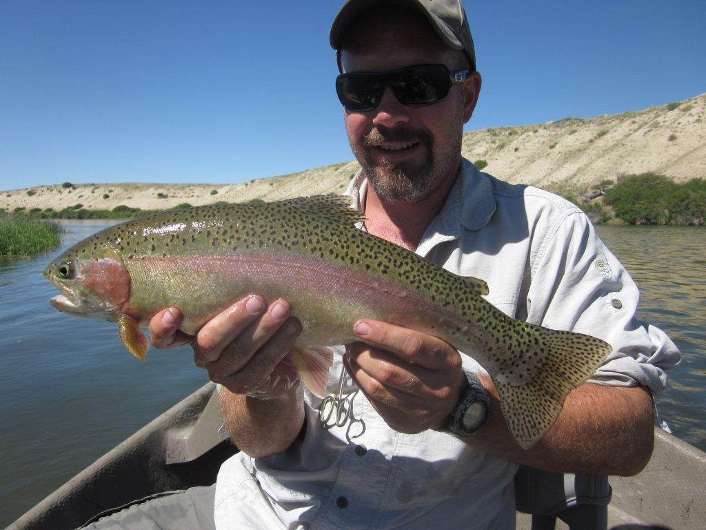 Miracle mile fishing report grey reef fishing report for North platte fishing report