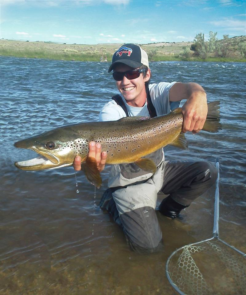 Grey reef and miracle mile fishing report north platte lodge for Miracle mile fishing