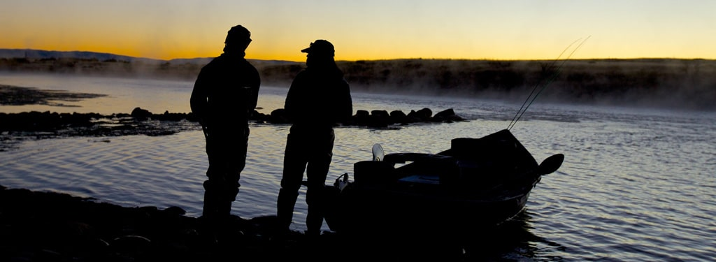 Talking-Fishing-At-Dusk-On-Grey-Reef